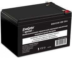 Аккумуляторная батарея Exegate EXS12120 12V12Ah F1