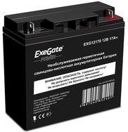 Аккумуляторная батарея Exegate EXS12170 12V17Ah M5