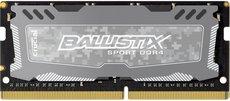 Оперативная память 4Gb DDR4 2400Mhz Crucial Ballistix Sport LT SO-DIMM (BLS4G4S240FSD)