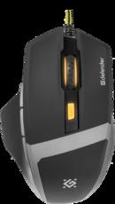 Мышь Defender Warhead GM-1740 Black