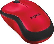 Мышь Logitech M220 Silent Red (910-004880)