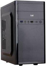 Корпус 3Cott 3C-MATX-R833 Black 400W