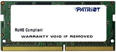 Оперативная память 8Gb DDR4 2133Mhz Patriot SO-DIMM (PSD48G213381S)