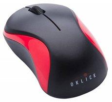 Мышь Oklick 605SW Black/Red