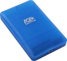 Внешний корпус для HDD AgeStar 3UBCP3 Blue