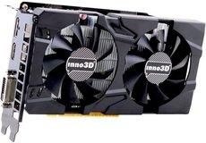Видеокарта nVidia GeForce GTX1050 Inno3D Twin X2 PCI-E 2048Mb (N1050-1DDV-E5CM)