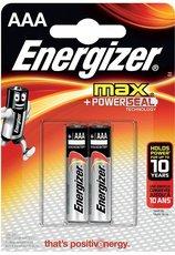 Батарейка Energizer Max (AAA, 2 шт)