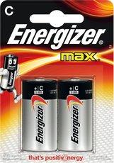 Батарейка Energizer Max (C, 2 шт)