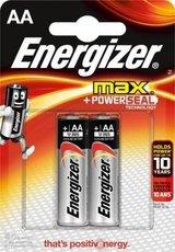 Батарейка Energizer Max (AA, 2 шт)