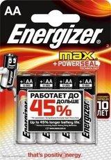 Батарейка Energizer Max (AA, 4 шт)