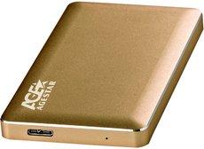 Внешний корпус для HDD AgeStar 31UB2A16 Gold
