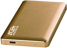 Внешний корпус для HDD AgeStar 31UB2A16C Gold