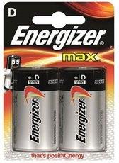 Батарейка Energizer Max (D, 2 шт)