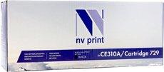 Картридж NV Print CE310A/729 Black