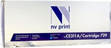 Картридж NV Print CE311A/729 Cyan