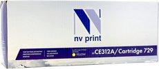 Картридж NV Print CE312A/729 Yellow