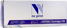 Картридж NV Print CE313A/729 Magenta