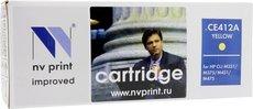 Картридж NV Print CE412A Yellow