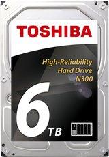Жесткий диск 6Tb SATA-III Toshiba N300 (HDWN160UZSVA) OEM