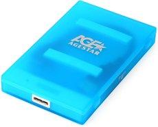 Внешний корпус для HDD AgeStar 3UBCP1-6G Blue