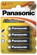 Батарейка Panasonic Alkaline Power (AA, Alkaline, 4 шт)