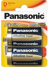 Батарейка Panasonic Alkaline Power (D, Alkaline, 2 шт)