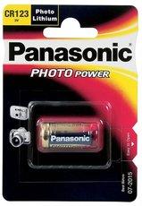 Батарейка Panasonic Luthium Power (CR123A, 1 шт)