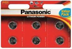 Батарейка Panasonic Luthium Power (CR2032, 6 шт)