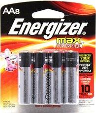 Батарейка Energizer Max (AA, 8 шт)