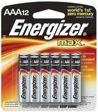 Батарейка Energizer Max (AAA, 12 шт)