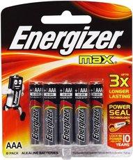 Батарейка Energizer Max (AAA, 8 шт)