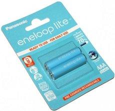 Аккумулятор Panasonic Eneloop Lite (AAA, 550mAh, 2 шт)