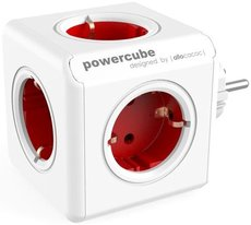 Сетевой разветвитель Allocacoc PowerСube Original Red