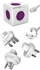 Сетевой разветвитель Allocacoc PowerСube ReWirable 2x USB IEC Cable