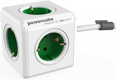 Сетевой удлинитель Allocacoc PowerCube Extended Green