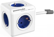 Сетевой удлинитель Allocacoc PowerCube Extended Blue