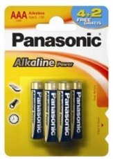Батарейка Panasonic Alkaline Power (AAA, Alkaline, 6 шт)