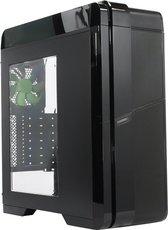Корпус GameMax G536 Black (Green LED)
