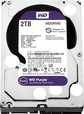Жесткий диск 2Tb SATA-III Western Digital Purple (WD20PURZ)