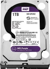 Жесткий диск 1Tb SATA-III Western Digital Purple (WD10PURZ)