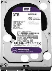 Жесткий диск 3Tb SATA-III Western Digital Purple (WD30PURZ)