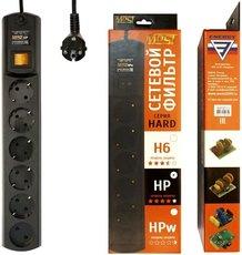Сетевой фильтр Most HP 5м 6 розеток, чёрный