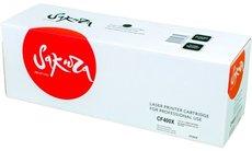 Картридж Sakura SACF400X Black