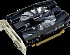 Видеокарта nVidia GeForce GTX1060 Inno3D Compact 2 PCI-E 3072Mb (N1060-6DDN-L5GM)
