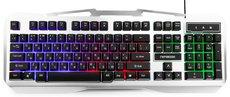 Клавиатура Гарнизон GK-500G Black/Grey