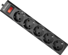 Сетевой фильтр Defender ES Largo 5м