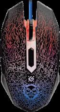 Мышь Defender Shock GM-110L Black (52110)