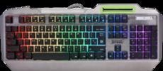 Клавиатура Defender Stainless steel GK-150DL Grey (45150)