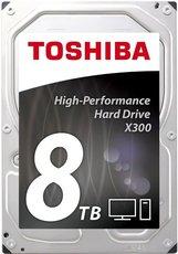 Жесткий диск 8Tb SATA-III Toshiba X300 (HDWF180UZSVA) OEM