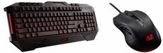 Клавиатура + мышь ASUS Cerberus Combo Black